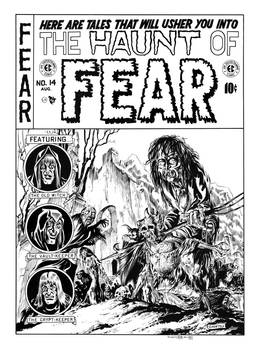 Haunt of Fear #14 Cover Recreation