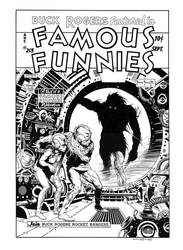 Famous Funnies #213 Cover Recreation by dalgoda7