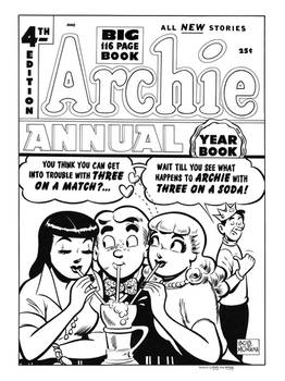 Archie Annual #4 Cover Recreation