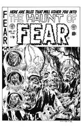 Haunt of Fear #17 Cover Recreation by dalgoda7
