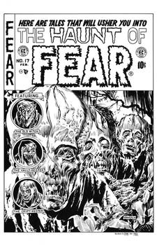 Haunt of Fear #17 Cover Recreation