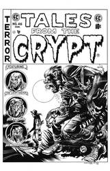 Tales from the Crypt #46 Cover Recreation by dalgoda7