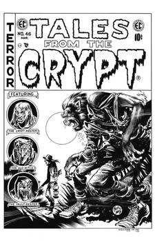 Tales from the Crypt #46 Cover Recreation