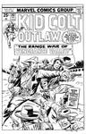 Kid Colt Outlaw #202 Cover Recreation