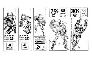 Iron Man Corner Boxes 60s-70s