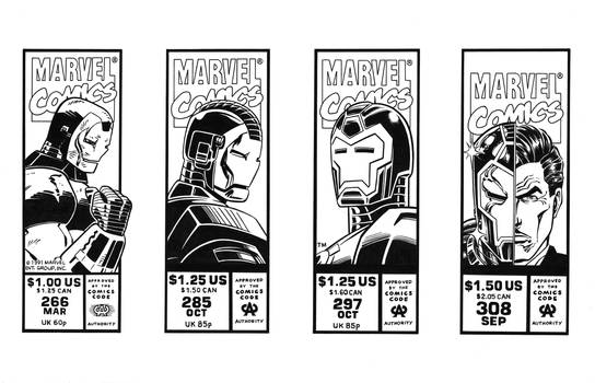 Iron Man Corner Boxes 90s