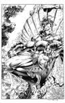 Fantastic Four #2 Namor Splash recreation