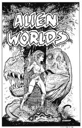 Alien Worlds #1 Cover Recreation