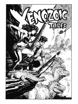 Xenozoic Tales Pinup Recreation 2
