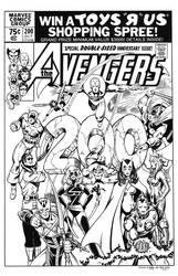 Avengers 200 Cover Recreation