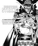 Doctor Strange Michael Golden Title Recreation