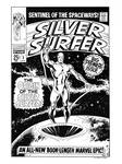 Silver Surfer #1 Cover Recreation