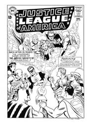 Justice League of America #21 Cover Recreation