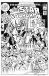 All-Star Squadron #1 Cover Recreation