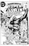 Secret Society Super-Villains #8 Cover Recreation