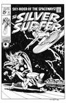 Silver Surfer #4 Cover Recreation