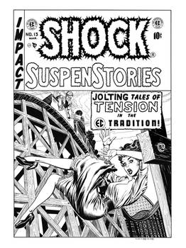Shock SuspenStories #13 Cover Recreation
