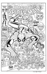 Amazing Spider-Man #100 Cover Recreation