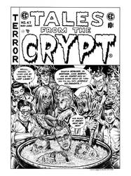 Tales From the Crypt #47 Imaginary Cover