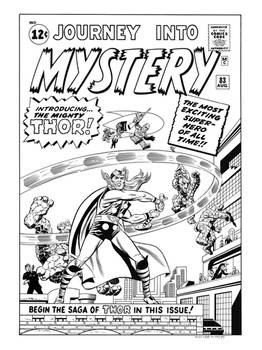 Journey Into Mystery #83 Cover Recreation