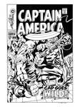 Captain America #106 Cover Recreation