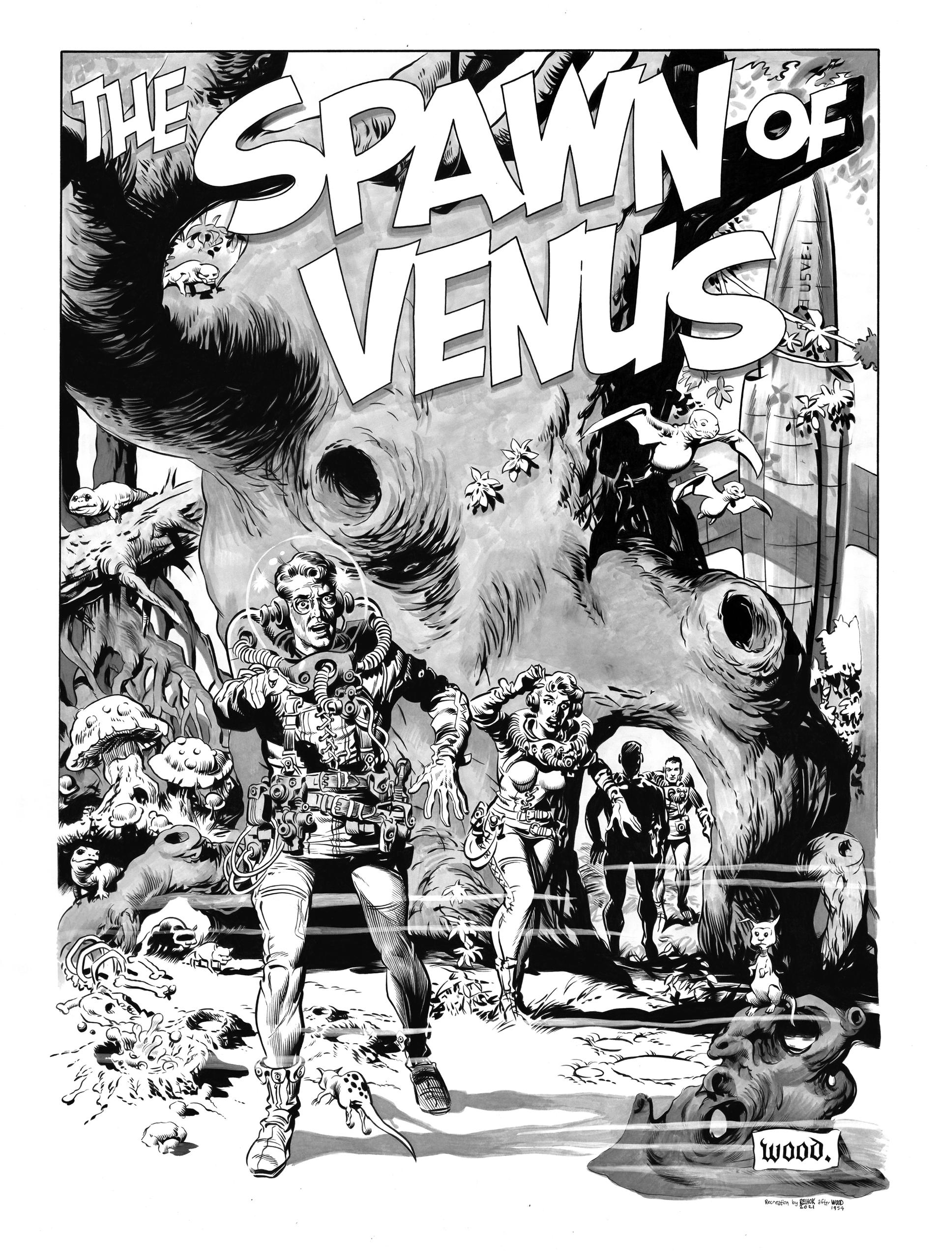 Spawn Of Venus page recreation