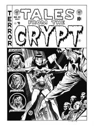 Tales From the Crypt #41 Cover Recreation