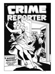 Crime Reporter #2 cover recreation