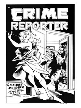 Crime Reporter #2 cover recreation