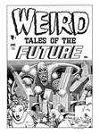 Weird Tales of the Future #2 Cover Recreation