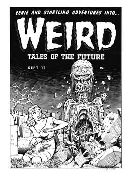 Weird Tales of the Future #3 Cover Recreation