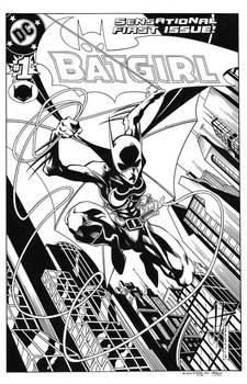 Batgirl #1 cover Recreation