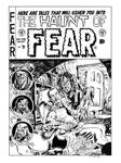 Haunt of Fear #26 Cover Recreation