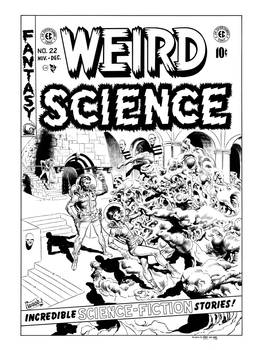 Weird Science #22 Cover Recreation