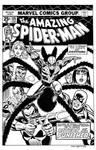 Amazing Spider-Man #135 Cover Recreation