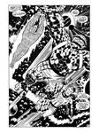 Fantastic Four Annual #6 Splash Recreation