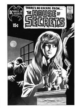 House of Secrets #92 Cover Recreation