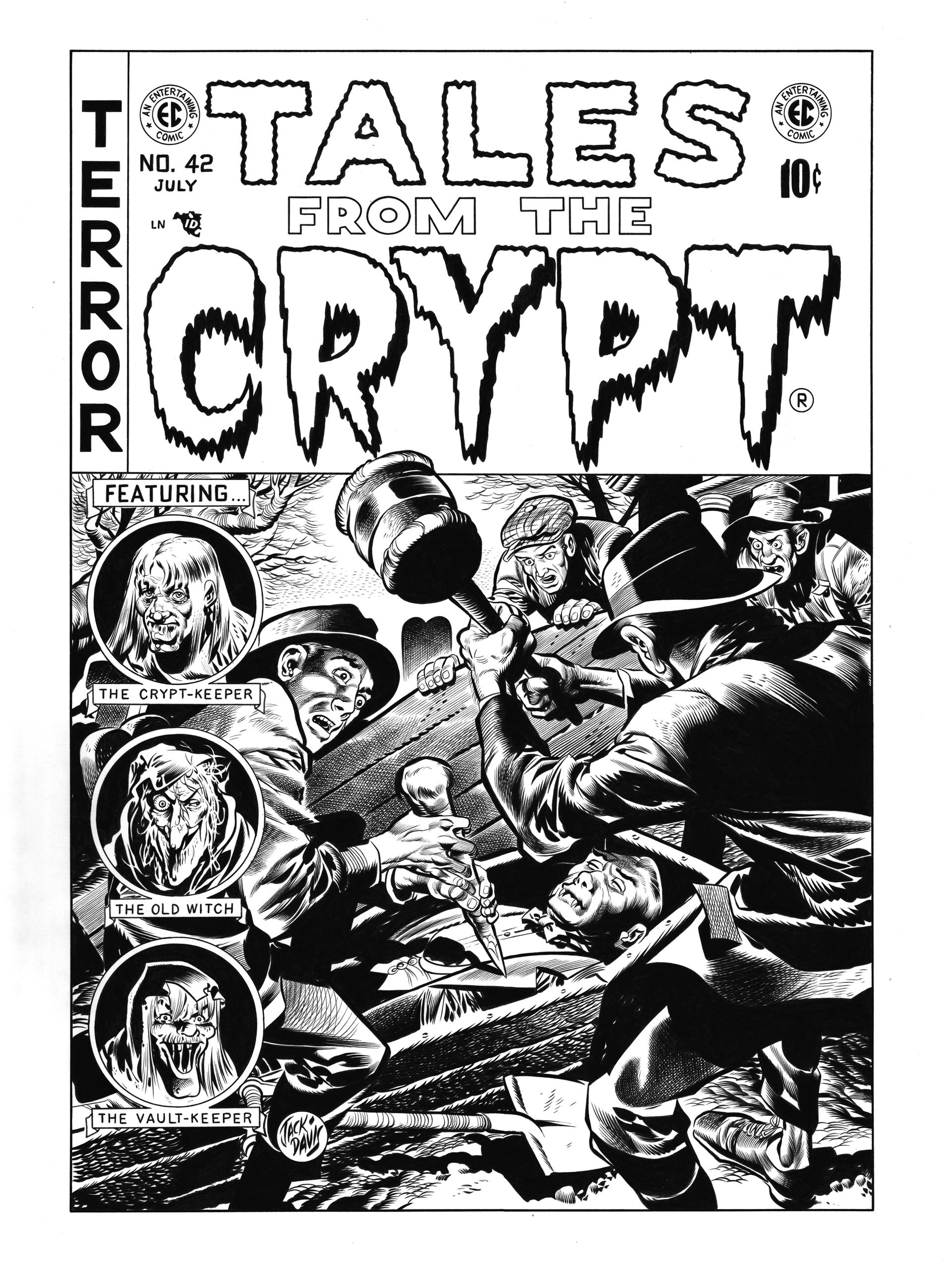 Tales from the Crypt #42 Cover Recreation
