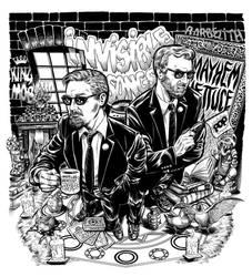 Invisible Songs album cover for Mayhem Lettuce
