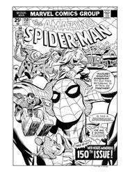 Amazing Spider-Man #150 Cover Recreation