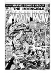 Iron Man #94 Cover Recreation