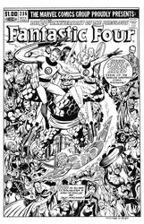 Fantastic Four #236 Cover recreation by dalgoda7