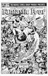 Fantastic Four #236 Cover recreation