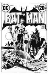 Batman #244 Cover Recreation by dalgoda7