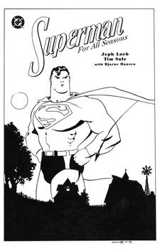 Superman For All Seasons TPB Cover Recreation