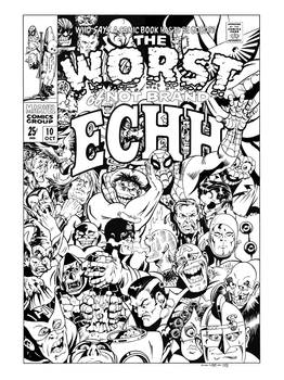 Not Brand Echh #10 Cover Recreation