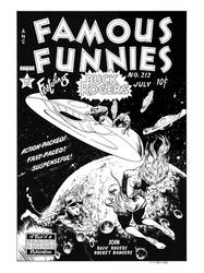 Famous Funnies #212 Cover Recreation