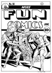 More Fun Comics #56 Cover Recreation