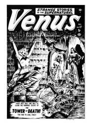 Venus #17 Cover Recreation