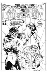 Green Lantern #76 Cover Recreation